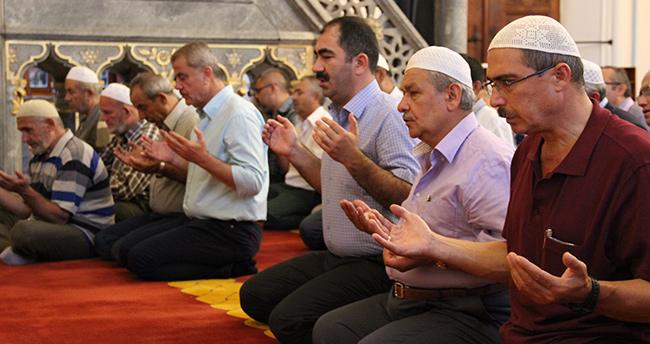Konya'da Şehitler İçin Dua Edildi