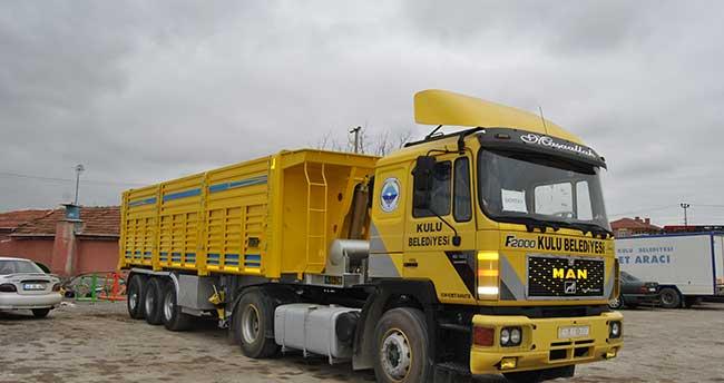 Kulu Belediyesine yeni araçlar alındı