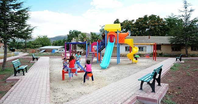Konya Büyükşehir Belediyesi'nden 328 Mahalleye Park