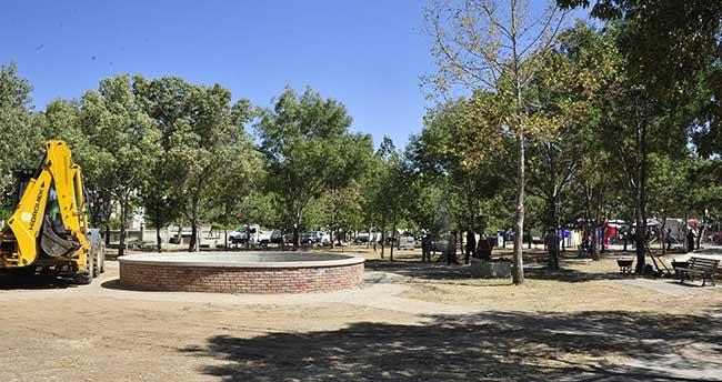 Karaman'da park düzenleme çalışmaları