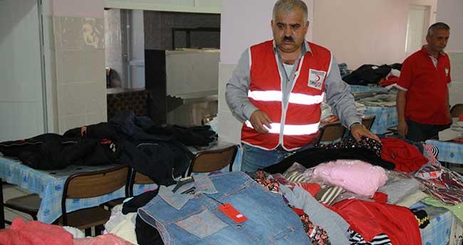 Türk Kızılayından yardım