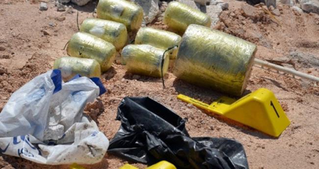 Çöp Konteynerinde Bomba Bulundu