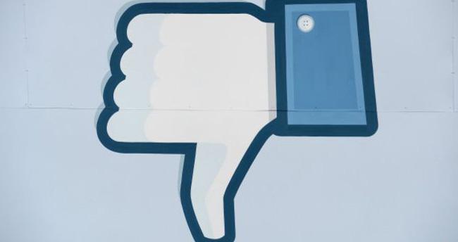 Facebook'a 'beğenmedim' butonu da geliyor