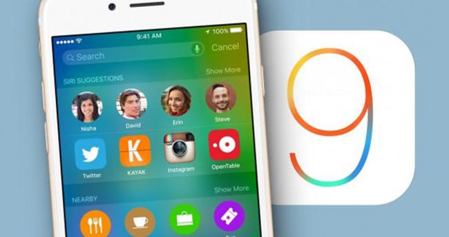 iOS 9 güncellemesi Türkiye'de yayınlandı