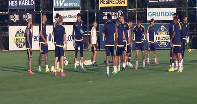 Fenerbahçe, Molde maçına hazırlıklarını tamamlandı