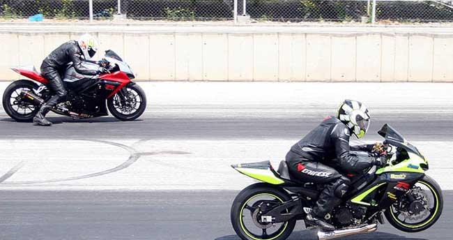 Motosiklette drag heyecanı Konya'da yaşanacak