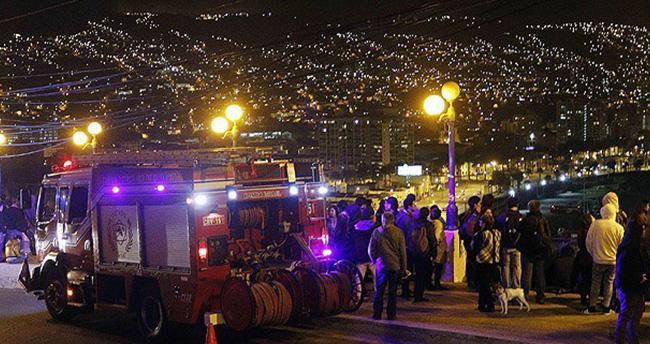 Şili'de 8,3 büyüklüğünde deprem: 5 ölü
