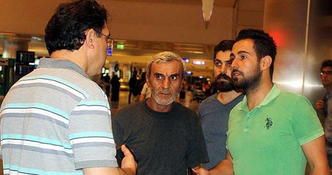 Türk işçiler İstanbul'a geldi