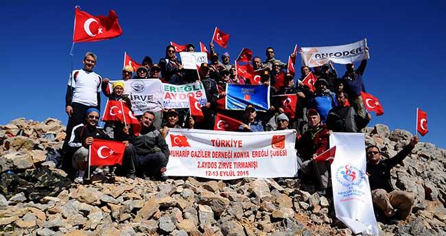 Gazilerden Bolkarlar'ın zirvesinde birlik beraberlik mesajı