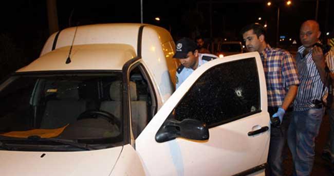 Trafikte takibe aldığı şahsı silahla vurup kaçtı