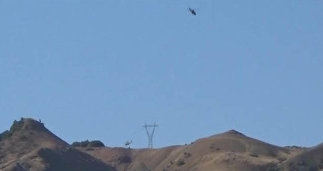 Tunceli'de PKK'ya operasyon sürüyor