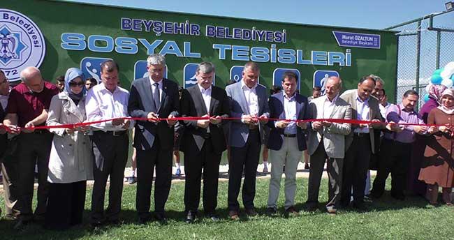 Beyşehir'de Spor Kompleksi Törenle Açıldı