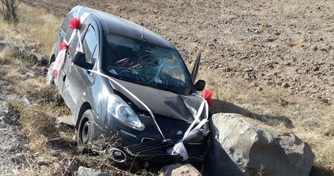 Ankaralı Namık trafik kazası geçirdi