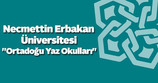 """NEÜ'de """"Ortadoğu Yaz Okulları"""" semineri verildi"""