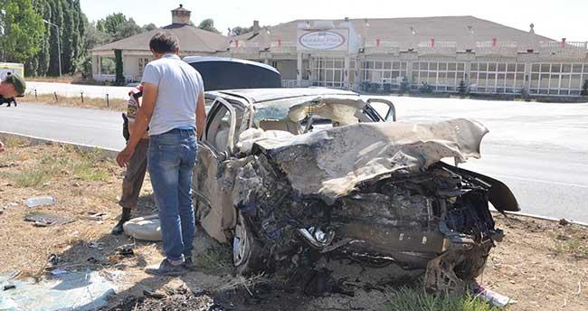 Yozgat'ta katliam gibi kaza: 4 ölü, 3 yaralı