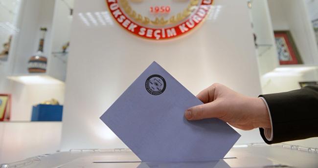 Milletvekili Genel Seçimi'ne ilişkin geçici aday listesi açıklandı