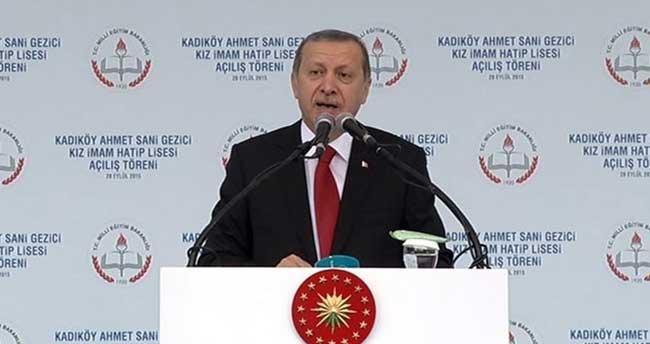 Erdoğan: O ne büyük garabetti!