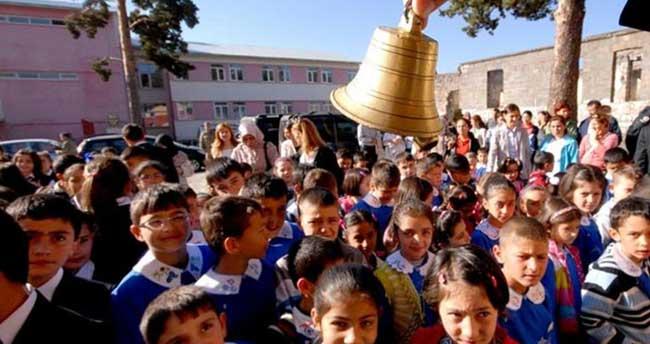 Ve nihayet okullar açıldı