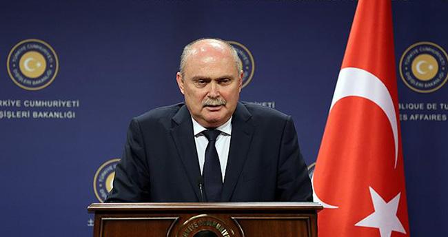 Dışişleri Bakanı Sinirlioğlu, Rusya'nın Suriye'de düzenlediği hava operasyonlarıyla ilgili konuştu