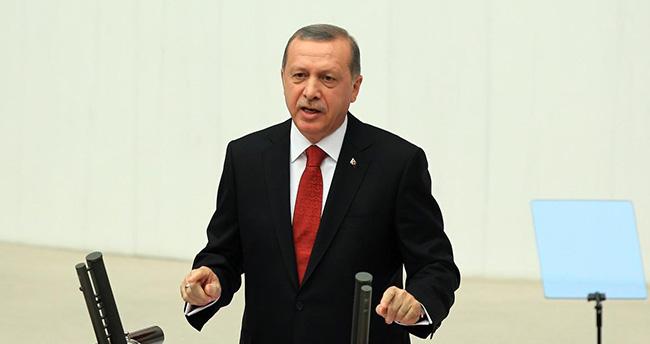 Erdoğan Meclis Açılış Töreninde Konuştu, HDP'liler Salonu Terk Etti