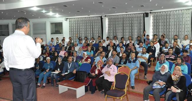 Konya'da sağlık çalışanlarına motivasyon eğitimi