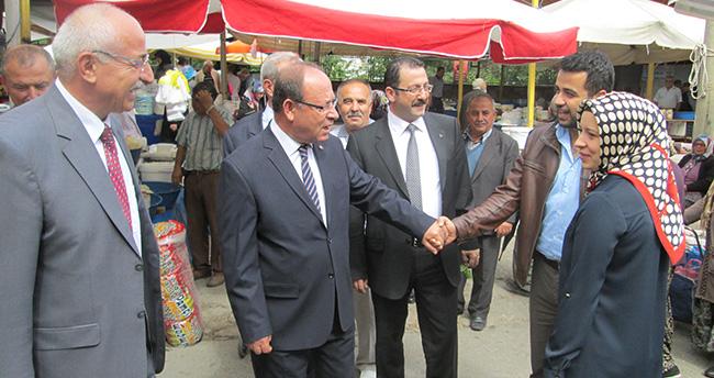 MHP adayları Seydişehir'de çalışmalarını sürdürdü
