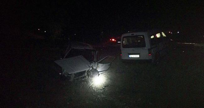 Beyşehir'de Trafik Kazası : 4 Yaralı