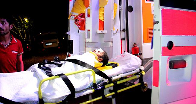 Konya'da dereye düşen çocuk ağır yaralandı