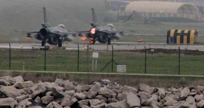 İki ilde 17 PKK hedefi yerle bir edildi