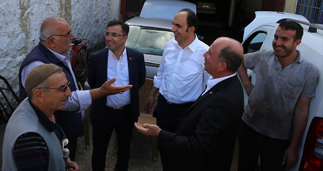 Başkan Altay'ın Esnaf Ziyaretleri Sürüyor