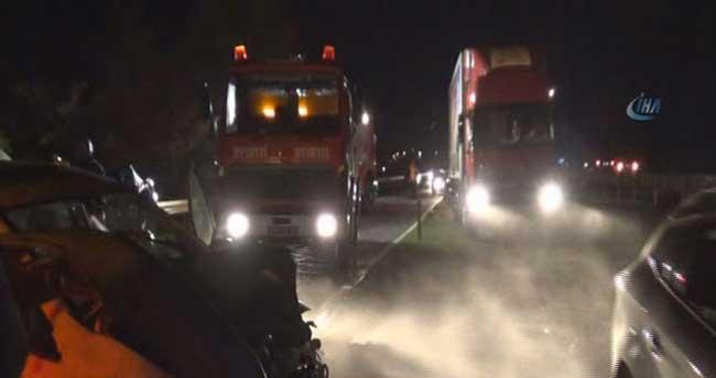 D-100 Karayolu'nda kaza: 4 yaralı