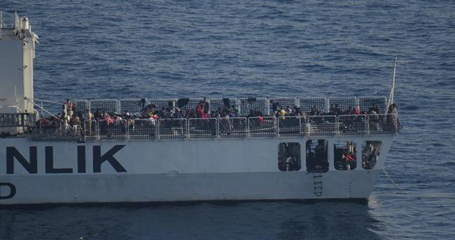 Ege Denizi'nde 205 kaçak yakalandı