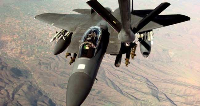 F-16 uçaklarına milleti tespit edilemeyen uçaktan taciz!