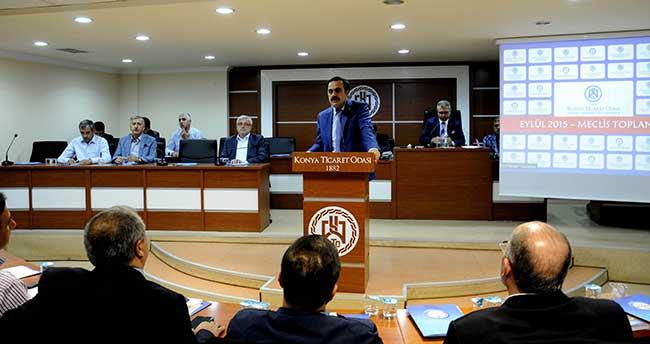 KTO Eylül Ayı Meclis Toplantısı Yapıldı