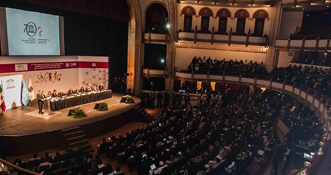 Meksika'daki UNESCO Toplantısında KOMEK Modeli Anlatıldı