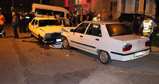 Alkollü sürücü kazaya yol açtı: 4 yaralı