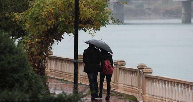 7 Ekim 2015 yurtta hava durumu
