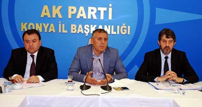 AKP Konya Seçim Çalışmalarını İstişare Etti