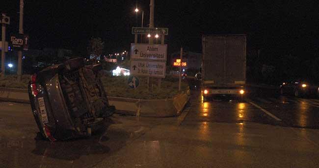 Bala Belediye Başkanı Gürbüz trafik kazası geçirdi