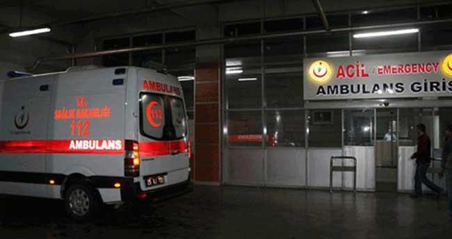 Başbakan'ın mitinginde görevli polisler kaza yaptı: 24 yaralı