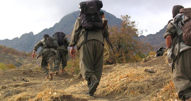 PKK'lıların sırt çantasından çıktı