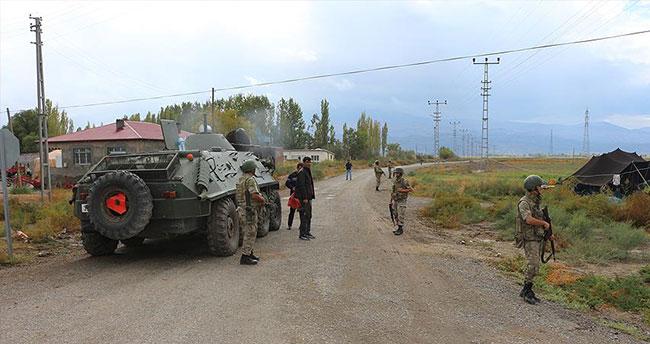 Ağrı Dağı'nda terör örgütüne operasyon