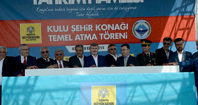 Konya Büyükşehir'den İlçelere Yatırım Hamlesi
