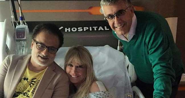 Pakize Suda hastaneye kaldırıldı!