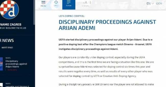 Şampiyonlar Liginde 'doping' skandalı