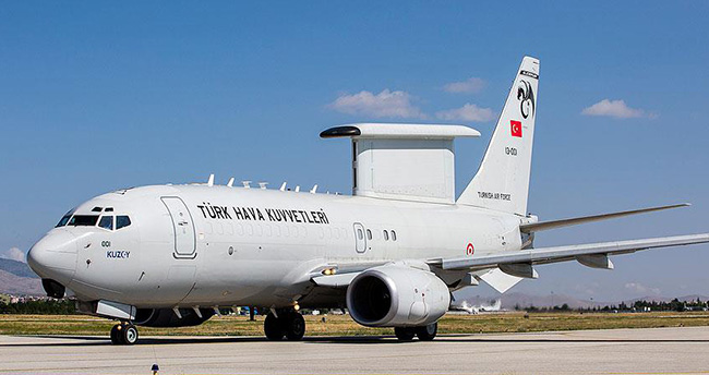 """Sınıra """"uçan göz"""": HİK uçağı Konya'dan Kalkıyor"""