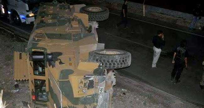 Şırnak'ta askeri araç kaza yaptı: 13 yaralı