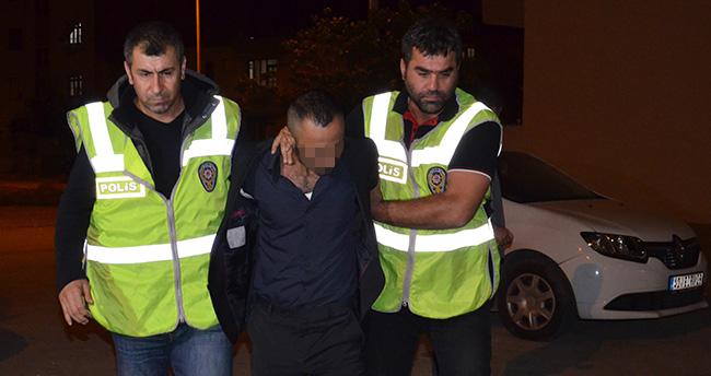 Konya'da Lastikleri Kesen Şüpheli Serbest Bırakıldı