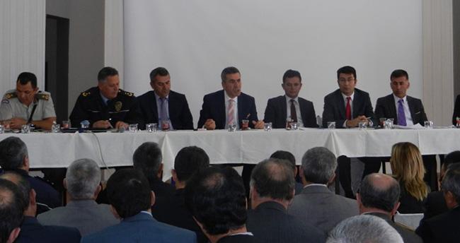 Akşehir'de Okul Müdürleri Toplantısı Yapıldı
