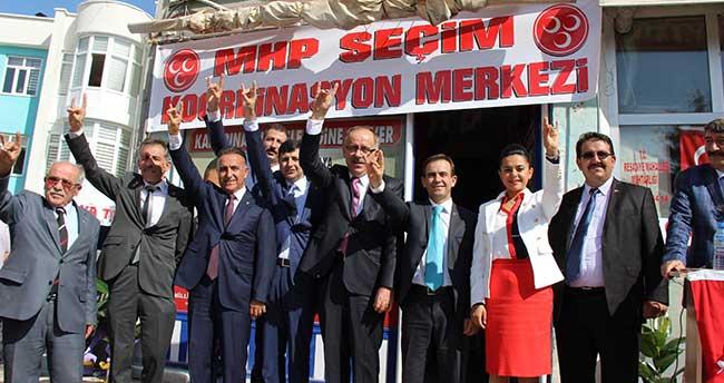 MHP Karapınar Seçim Koordinasyon Merkezi Açıldı